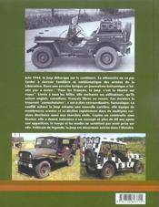 Jeep, Le Tout-Terrain De La Liberte - 4ème de couverture - Format classique