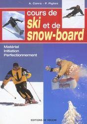 Cours De Ski Et Snowboard - Intérieur - Format classique