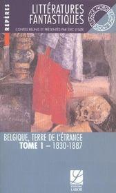 Litteratures Fantastiques, Tome 1 : 1830-1887 - Intérieur - Format classique