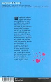 Trouver un jules a paris 2005 - 4ème de couverture - Format classique