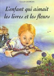 L'enfant qui aimait les livres et les fleurs - Intérieur - Format classique