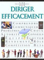 Diriger Efficacement - Intérieur - Format classique