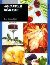 Aquarelle réaliste - Couverture - Format classique