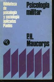 Psicologia Militar - Couverture - Format classique