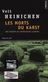 Les morts du karst - Couverture - Format classique