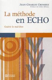 La méthode en ECHO ; guérir le mal-être - Intérieur - Format classique