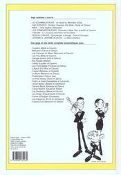Recueil Spirou N.266 - 4ème de couverture - Format classique