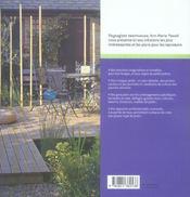 Petits jardins d'aujourd'hui ; plans et idées d'aménagement - 4ème de couverture - Format classique