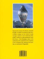 Recits d'aventures ; 50 ans d'exploits 1950-2000 - 4ème de couverture - Format classique