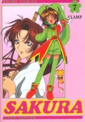 Card Captor Sakura - Anime Comics T.7 - Couverture - Format classique