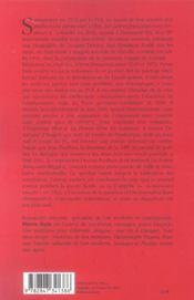 Les Lettres Francaises Jalons Pour L Histoire D Un Journal 1941-1972 - 4ème de couverture - Format classique