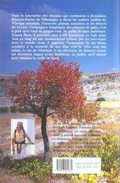 Pelerin D'Orient. A Pied Jusqu'A Jerusalem - 4ème de couverture - Format classique