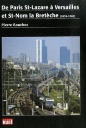 De Paris St Lazare A Versailles / La Breteche - Couverture - Format classique