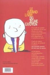 Le grand livre du jeune citoyen - Couverture - Format classique