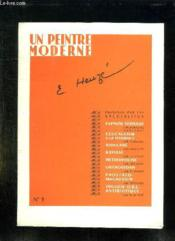 Un Peintre Moderne N° 3. Heuze E. - Couverture - Format classique
