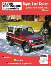 Rta 493.4 Toyota Land Cruiser Lj Diesel 85-93 - Couverture - Format classique