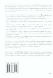 Histoire De La Presse En France - 4ème de couverture - Format classique