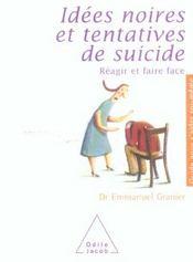 Idees noires et tentatives de suicide - Intérieur - Format classique