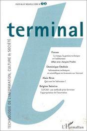 Terminal 73 - Couverture - Format classique