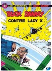 Buck Danny t.17 ; Buck Danny contre lady X - Couverture - Format classique