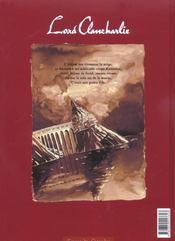 Lord Clancharlie T.1 ; Deux Enfants Dans L'Ombre - 4ème de couverture - Format classique