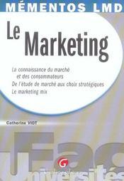 Le marketing - Intérieur - Format classique