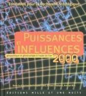 Puissances Et Influences - Couverture - Format classique
