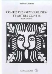 Contes Des Sept Collines Et Autres Contes Pour Enfants : - Couverture - Format classique