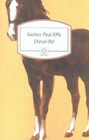 Cheval-roi - Intérieur - Format classique