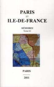 Vente  Memoires Paris Ile De France 62  - Collectif