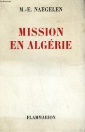 Mission En Algerie. - Couverture - Format classique