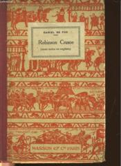 The Life And Adventures Of Robinson Crusoe - Couverture - Format classique