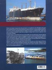 Methaniers & Gaziers, La Haute Technologie Sur Mer - 4ème de couverture - Format classique