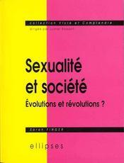 Sexualite Et Societe Evolutions Et Revolutions - Intérieur - Format classique