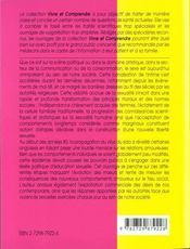 Sexualite Et Societe Evolutions Et Revolutions - 4ème de couverture - Format classique