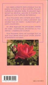 Choisir planter rosiers - 4ème de couverture - Format classique