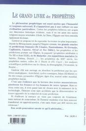 Grand Livre Des Propheties - 4ème de couverture - Format classique