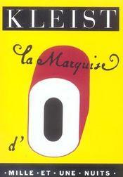 La Marquise D'O - Intérieur - Format classique