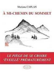 A Mi-Chemin Du Sommet - Couverture - Format classique