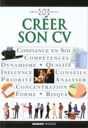 Creer Son Cv - Intérieur - Format classique