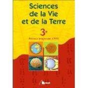 Sciences de la vie et de la terre 3eme - Couverture - Format classique