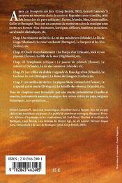 Contes populaires des pays celtiques - 4ème de couverture - Format classique