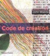 Code de création - Couverture - Format classique