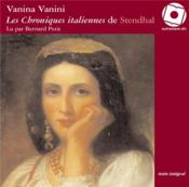 Vanina Vanini ; chronique italienne - Couverture - Format classique