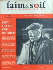 Faim Et Soif N°46 du 01/05/1962 - Couverture - Format classique
