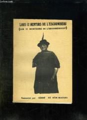 Lous 12 Menturs De L Escornobeou. Les 12 Menteurs De L Escorneboeuf. - Couverture - Format classique