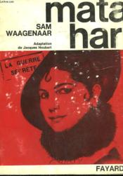 Mata Hari. - Couverture - Format classique