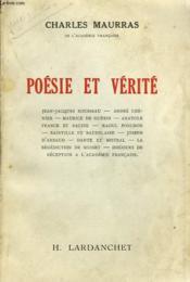 Poesie Et Verite - Couverture - Format classique