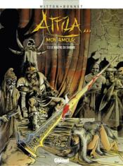 Attila mon amour t.3; le maître du danube - Couverture - Format classique
