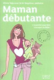 Maman débutante, mode d'emploi - Couverture - Format classique